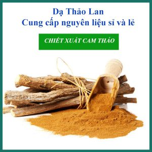 CHIẾT XUẤT CAM THẢO