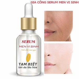 Gia công serum men vi sinh, Bí mật để gia công mỹ phẩm, serum men vi sinh