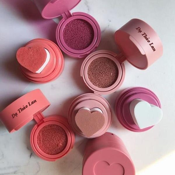 Gia công cushion má hồng, gia công mỹ phẩm, sản phẩm make up trọn gói