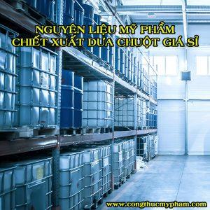 nguyen lieu my pham chiet xuat dua chuot