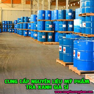 Nguyên liệu mỹ phẩm trà xanh